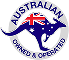 Australian Owned and Operated Logo